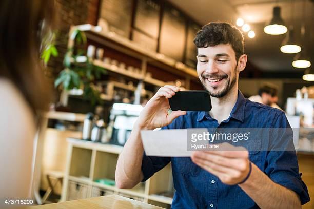 L'acompte de Capture à café avec télécommande