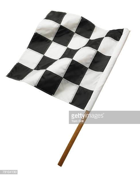 Checkered flag, close-up