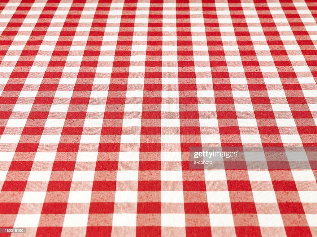 Checkered Tablecloth Stock Photo Getty Images