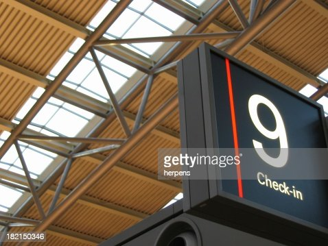 Checkin airport
