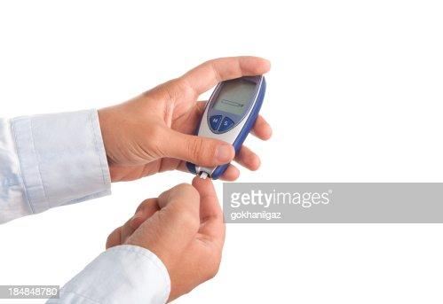 Checking Blood Sugar level