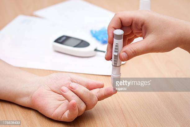 Checking blood-sugar levels