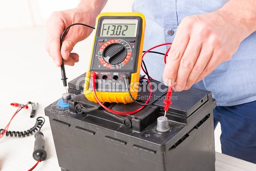 Checking Car Battery With Ohm Meter