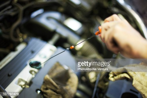 Dipstick Stock Photos And Pictures Getty Images