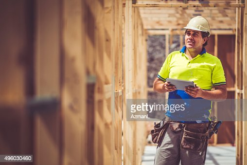Checking Construction Site
