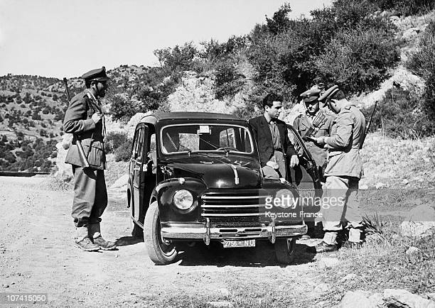 Checking Of Documents In Sardinia On October 1952