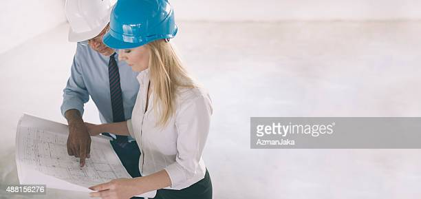 Checking plans for construction