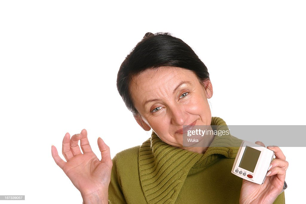 Checking pulse : Stock Photo