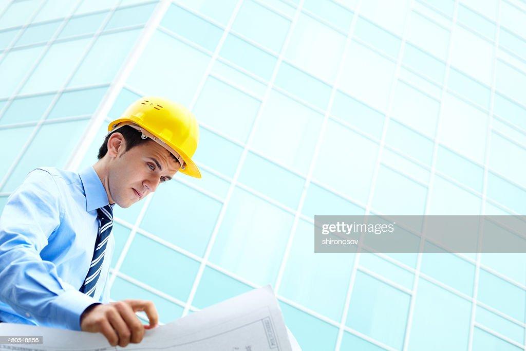 Verificar el plan : Foto de stock