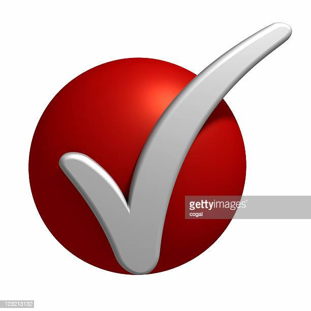 CheckMark on the red point