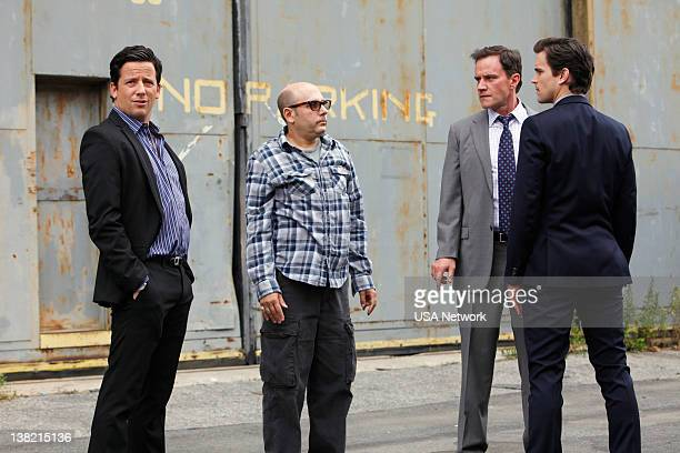 COLLAR 'Checkmate' Episode 313 Pictured Ross McCall as Matthew Keller Willie Garson as Mozzie Tim DeKay as Peter Burke Matt Bomer as Neal Caffrey