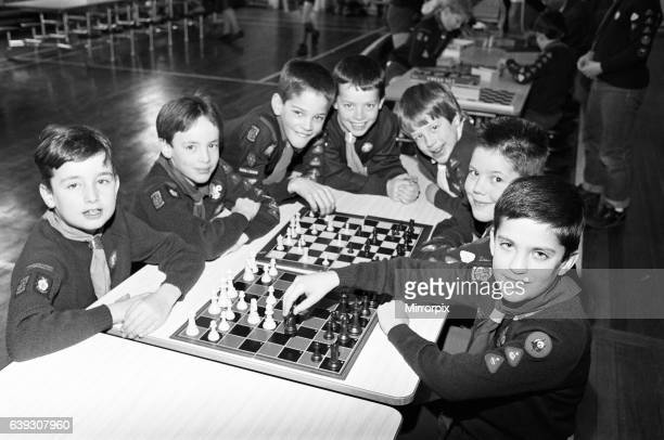 Checkmates These youngsters were among 35 cubs from the Holme Valley district competing in a chess tournament at Netherthong Primary School The...