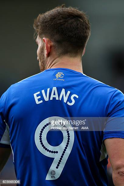 Ched Evans of Chesterfield during the Sky Bet League One match between Chesterfield and Sheffield United at Proact Stadium on November 13 2016 in...