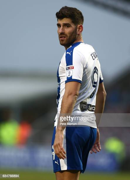 Ched Evans of Chesterfield in action during the Sky Bet League One match between Northampton Town and Chesterfield at Sixfields on February 11 2017...