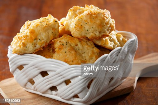 Cheddar Cheese Biscuits : Stock Photo