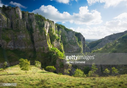 Cheddar Gorge. Somerset. England. UK.