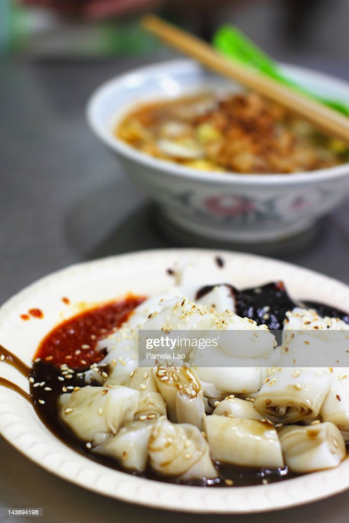 Chee cheong fun : Stock Photo