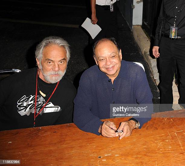 Cheech and Chong are sighted on September 27 2008 in Miami FL