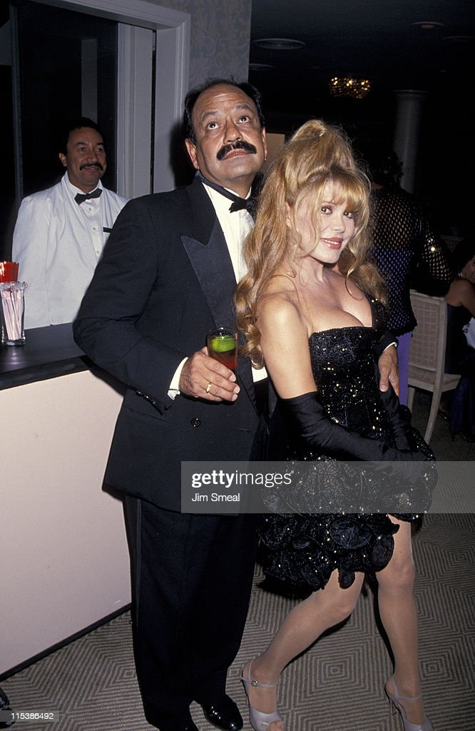 Cheech Marin and Charo during 1994 Diversity Awards at Beverly Hilton Hotel in Beverly Hills California United States