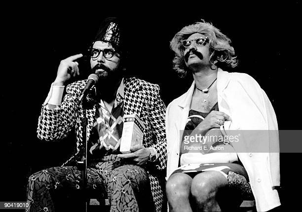 Cheech Marin and Tommy Chong from Cheech Chong perform live in New York in 1976