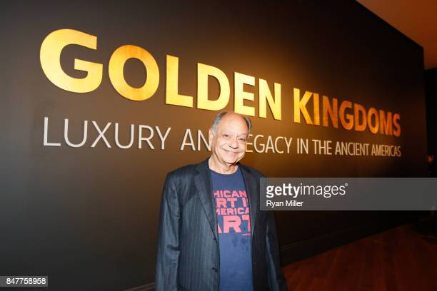 Cheech Marin attends the Pacific Standard Time LA/LA Opening Celebration at the Getty Museum on September 15 2017 in Los Angeles California