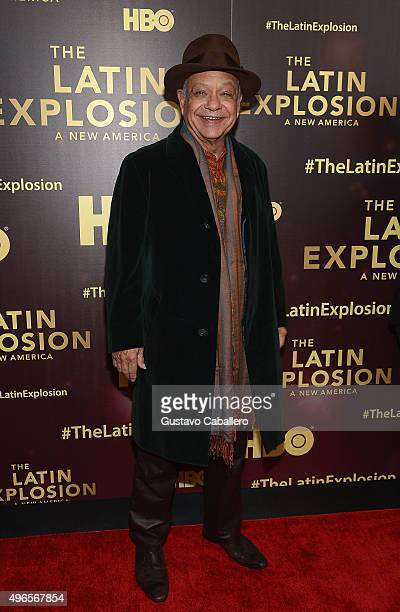 Cheech Marin attends the 'The Latin Explosion A New America' Premiere Screening on November 10 2015 in New York City