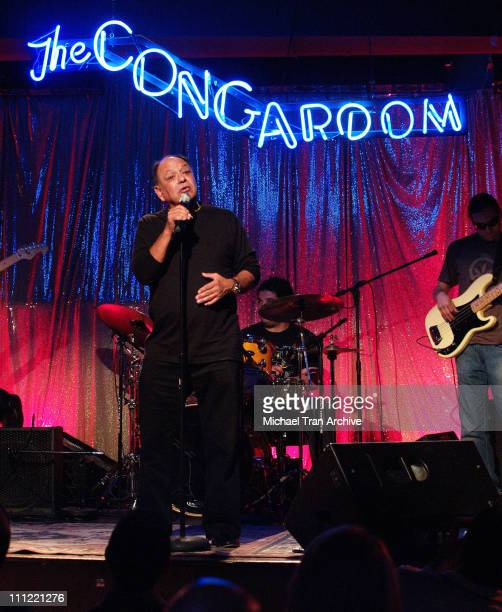 Cheech Marin during Cheech Marin and Friends Comedy Show at the Conga Room in Los Angeles May 28 2006 at The Conga Room in Los Angeles California...