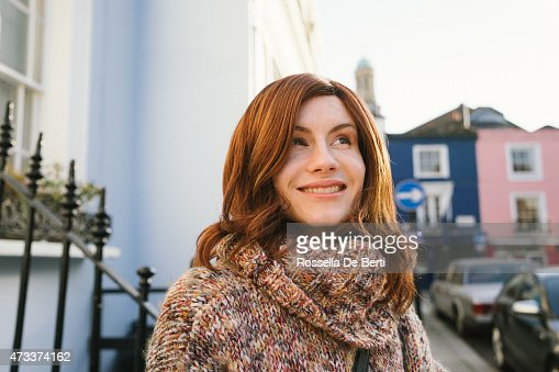 Cheerful Androgynous Man Crossdressed As Woman