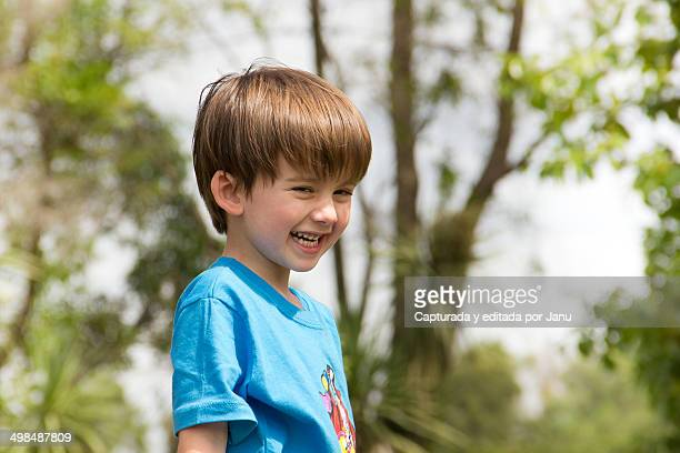 cheerful child