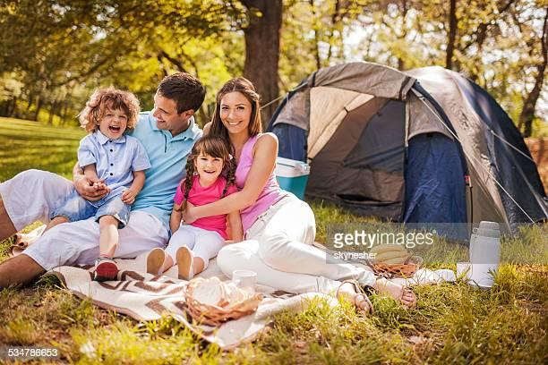 ご家族で楽しいピクニックます。