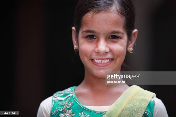 Cheerful Happy Indian Girl