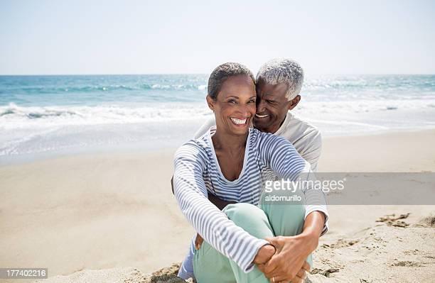 Cheerful senior couple