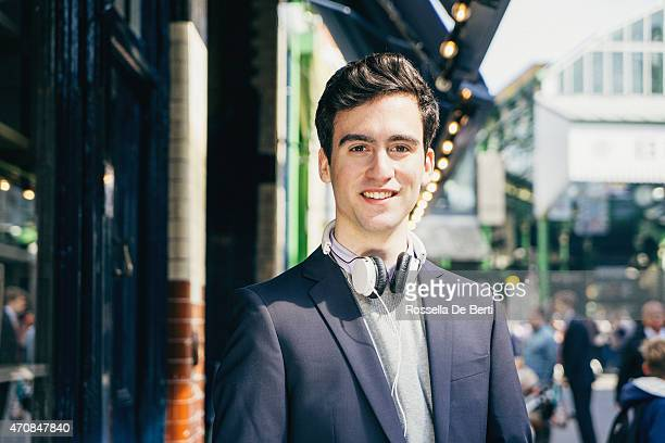 Cheerful Young Man Portrait