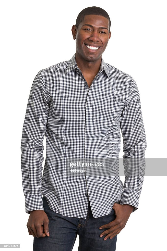 Cheerful Young Man Posing