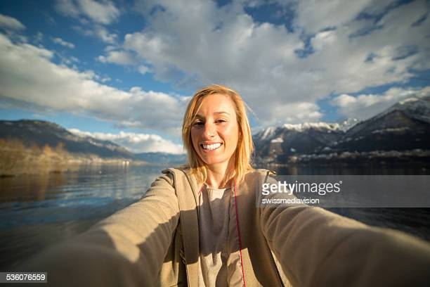 Mountain peak pictures stock photos and pictures getty for Cheerful nature