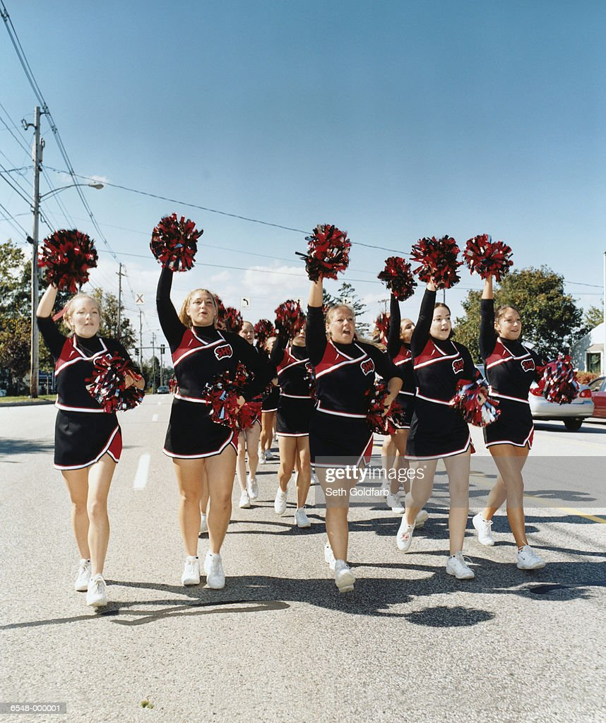Cheerleaders on Parade