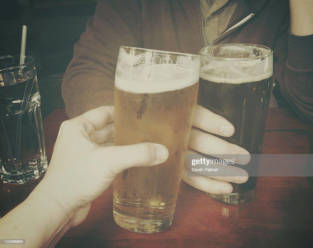 Cheers : Stock Photo