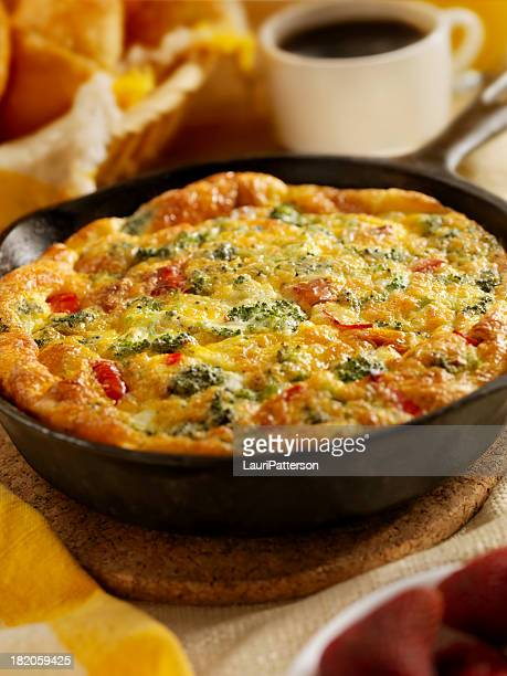 Cheese and Broccoli Frittata