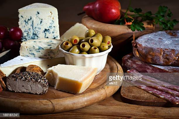 Cheese and dried meat