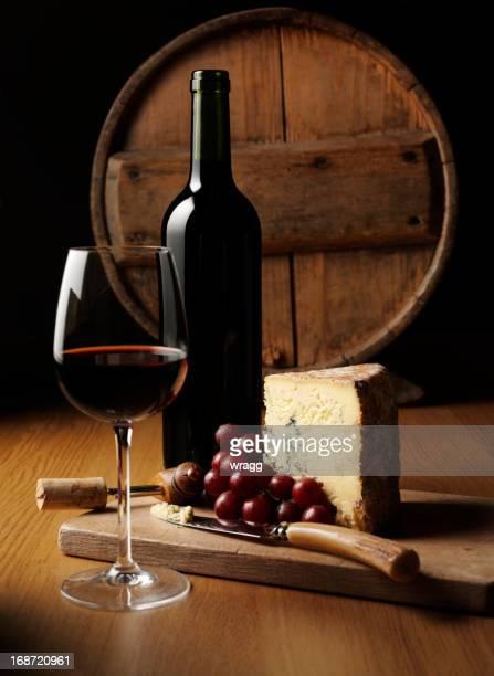 Cheese and Wine Elegance