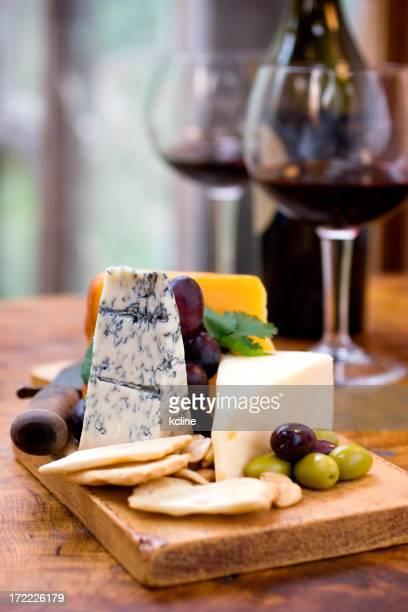 チーズとワイン
