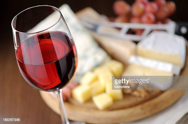 Käse und Wein