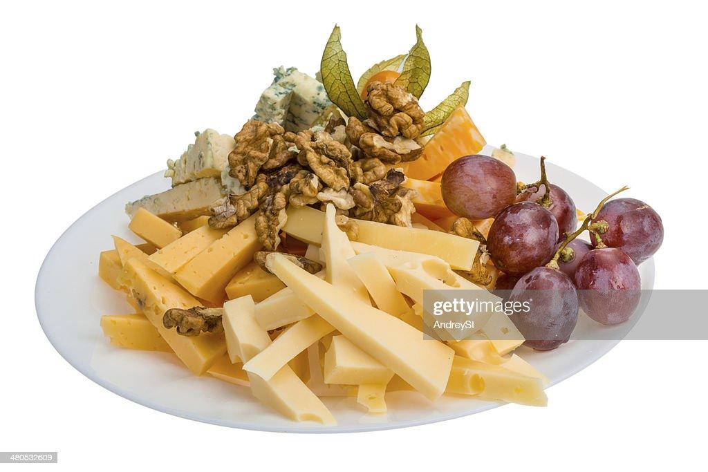 Cheese assortment : Stock Photo