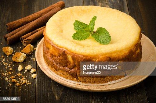 Pastel de queso : Foto de stock