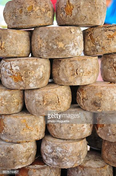 Cheese on a market in Provence