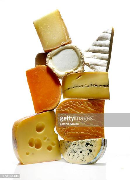 Cheese Slice Stack