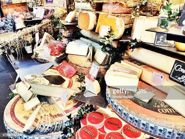 Cheese stall London Borough Market
