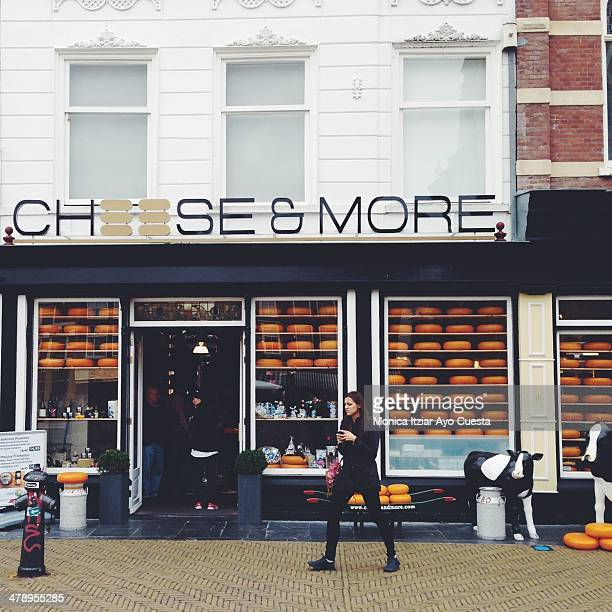 Cheese store in Netherlands