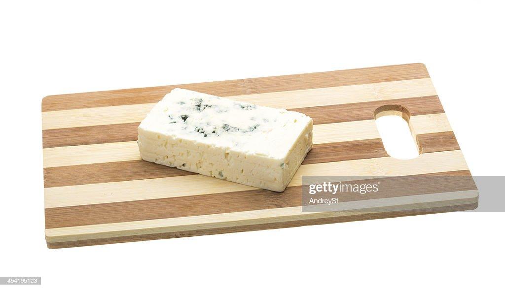 Queijo com Molde : Foto de stock