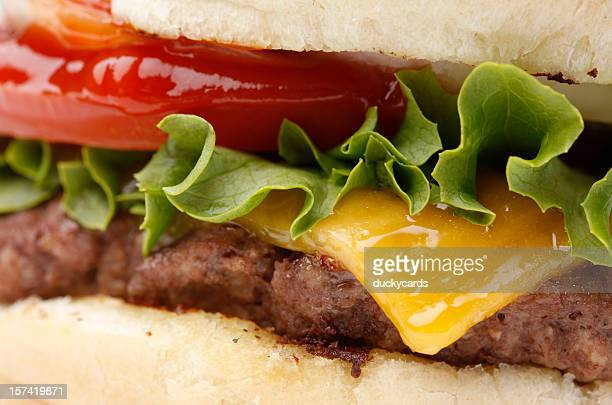 Cheeseburger Close-Up